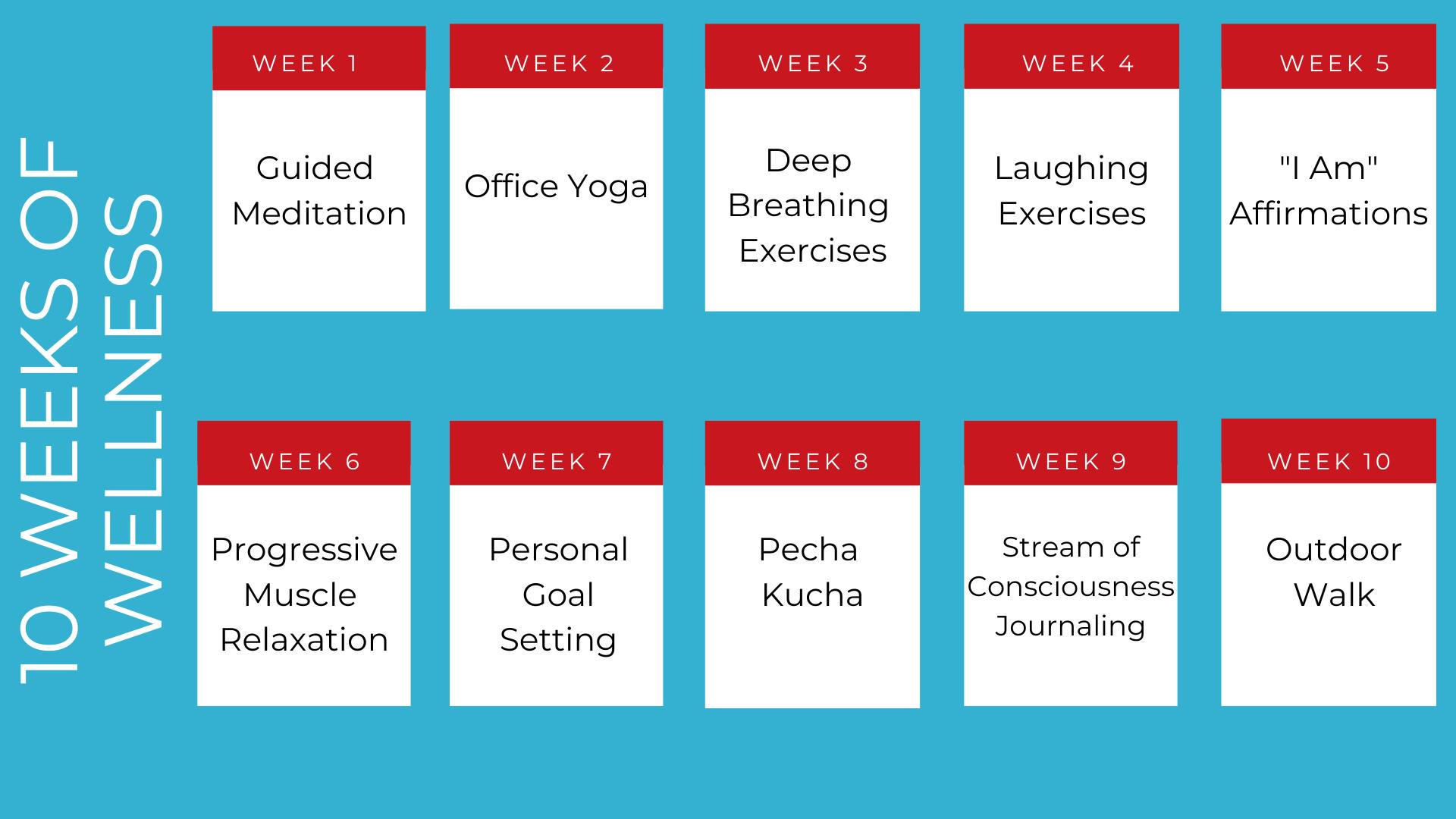 10 Weeks of Wellness