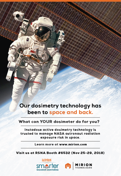 Mirion Technologies NASA ad