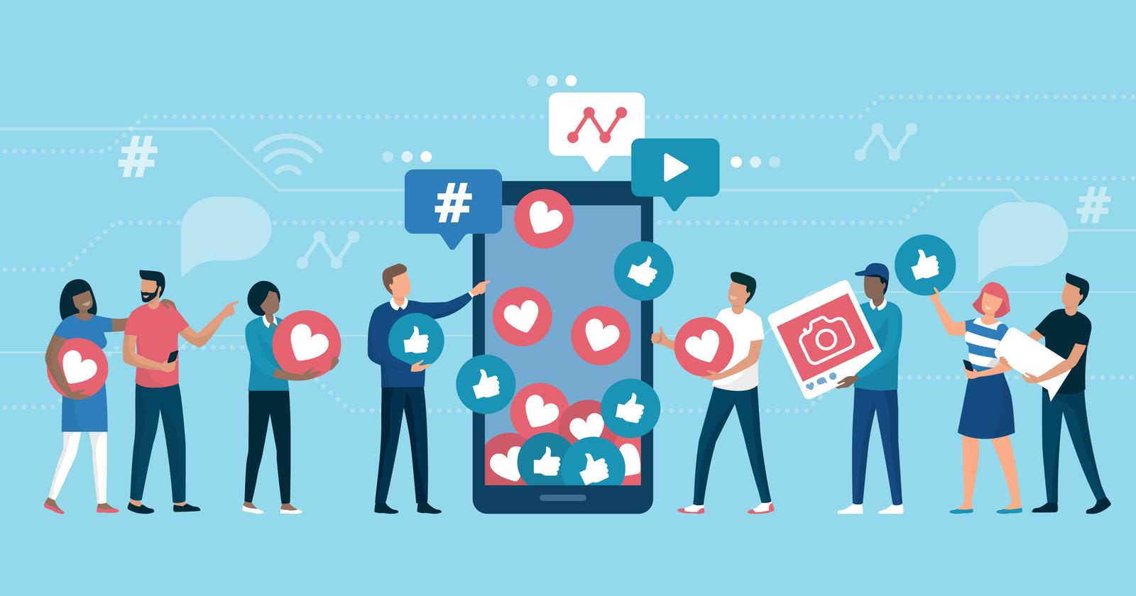 B2B social media channels